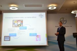 El Radiólogo Eliseo Vañó explicó cómo implanta el programa Radimetrics en Unidad de Radiología