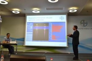 Explicación del Dr. Vañó sobre la integración y resultados de Radimetrics