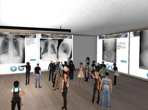Second Life. Laboratorio Radiologia Digital y Educacion Electronica. UMA